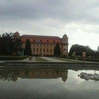 Photo taken at Zámek Holešov by Michala K. on 7/25/2013