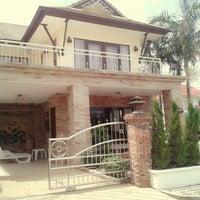 Photo taken at Aonang Garden Villa Krabi by Porpirun ..property Krabi on 7/26/2013