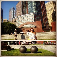 Photo taken at Battery Park by Julia T. on 6/20/2013