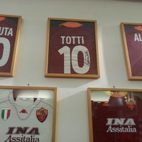 Photo taken at AS Roma Store by Matt K. on 8/30/2013