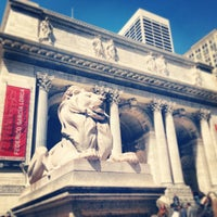 Photo taken at New York Public Library by Christopher P. on 4/7/2013