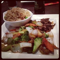 Photo taken at Hayashi Japanese Steakhouse and Sushi Bar by Betsee D. on 10/9/2012