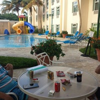 Photo taken at Four Points Pool Chill Area by Ehren on 8/13/2013
