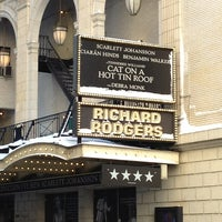 Photo taken at Richard Rodgers Theatre by Callie W. on 2/9/2013