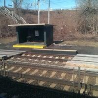 Photo taken at SEPTA Eddington Station by Nolan H. on 3/8/2014