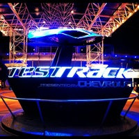 Photo taken at Test Track Presented by Chevrolet by Julianne A. on 12/3/2012