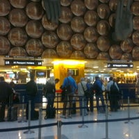 Photo taken at Terminal 3 by Grzegorz S. on 11/17/2012