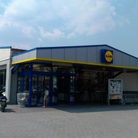 Photo taken at Lidl by Denys L. on 8/16/2013