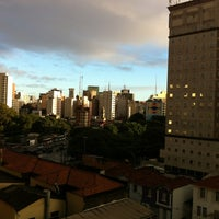 Photo taken at Tulip Inn Paulista Convention by Marcelo F. on 5/17/2012