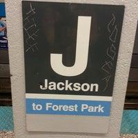 Photo taken at CTA - Jackson (Blue) by Bryan Dean W. on 7/4/2013