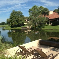 Photo taken at Villas of Grand Cypress Orlando by Raghad A. on 8/29/2013