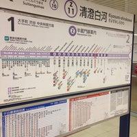 Photo taken at Hanzomon Line Kiyosumi-shirakawa Station (Z11) by DanganTraveler on 8/7/2013