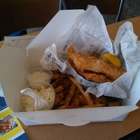 Photo taken at Fresco's Fish & Chips by Teddy M. on 10/8/2015