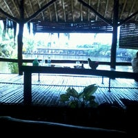 Photo taken at Saung Talaga by ray n. on 1/5/2013