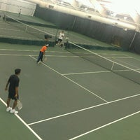 Photo taken at Overland Park Racquet Club by Jacki T. on 6/15/2013