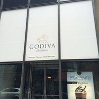 Photo taken at Godiva Chocolatier by İbrahim B. on 5/18/2014