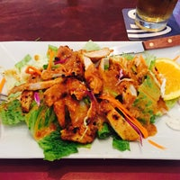 Photo taken at Thai On Main by Denton B. on 7/30/2015
