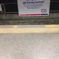 Photo taken at Yenibosna Metro İstasyonu by ayşegül a. on 2/20/2014