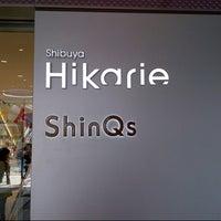 Photo taken at Shibuya Hikarie by Gueh Lee B. on 4/12/2013