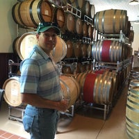 Photo taken at Stone's Throw Winery by Tiff R. on 7/16/2014