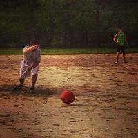 Photo taken at Clark Fields by Franki A. on 5/20/2014