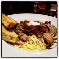 Photo taken at Powder Hounds Restaurant by Victoria B. on 10/13/2013