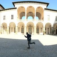 Photo taken at Palazzo Borromeo by Morena M. on 4/6/2015