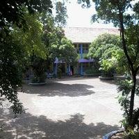Photo taken at SMP Pangudi Luhur 1 Yogyakarta by Stefanus Seno W. on 8/1/2013