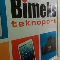 Photo taken at Bimeks Teknoport by Umit T. on 2/9/2016