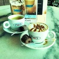 Photo taken at Fran's Café by Vair Renato C. on 5/7/2014