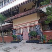 Photo taken at SMP Negeri 1 Bandung by Sandra W. on 7/12/2013