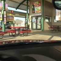 Photo taken at SONIC Drive In by Andrea T. on 6/19/2013