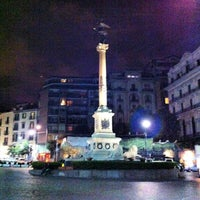 Photo taken at Piazza dei Martiri by Leonardo B. on 6/13/2013