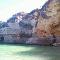 Photo taken at Praia da Batata by Mónica L. on 8/8/2013