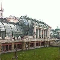 Photo taken at Palmenhaus by Nikolay T. on 12/16/2012