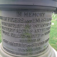 Photo taken at Stones River National Cemetery by Claire E. on 12/26/2015