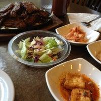 Photo taken at Hosoonyi Korean Restaurant by Stan H. on 8/3/2013