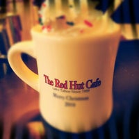 Photo taken at Red Hut Waffle Shop by Scotty B. on 1/4/2013