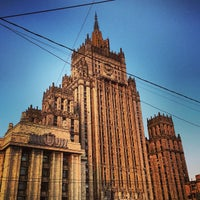 Photo taken at Смоленская-Сенная площадь by Anton V. on 7/10/2013