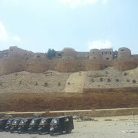 Photo taken at Jaisalmer Fort by Priyanka B. on 6/16/2013