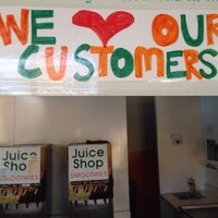 Photo taken at The Juice Shop by Michael L. on 2/27/2014