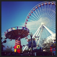Photo taken at Navy Pier by Shumok A. on 6/20/2013