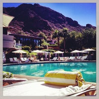 Photo taken at Sanctuary Resort on Camelback by Jenny P. on 9/25/2013