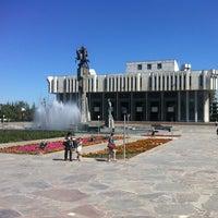 Photo taken at Кыргызская национальная филармония им. Т. Сатылганова by Azhar M. on 6/19/2013