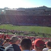 Photo taken at Rose Bowl Stadium by Roman G. on 1/1/2013