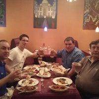 Photo taken at Saffron Indian Cuisine by Roy W. on 2/26/2013
