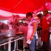 Photo taken at Mercado sobre ruedas, fresnos (jueves) by Cuervo on 6/14/2012