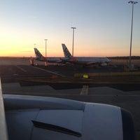 Photo taken at Melbourne Airport (MEL) by Mathew P. on 2/4/2013