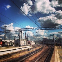 Photo taken at Kursky Rail Terminal by Konstantin K. on 8/17/2013