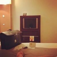 Photo taken at ibis Hotel Padova by Tamer on 9/11/2013